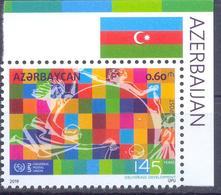 2019. Azerbaijan,145y Of UPU, 1v, Mint/** - Azerbaïdjan