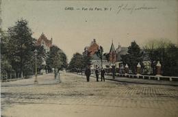 Gent - Gand // Vue Du Parc No. 1 (kleur) 1906 - Gent