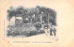 MARTINIQUE - ST PIERRE : Le Musée Du Jardin Botanique - CPA Précurseur - Antilles West Indies Caribbean Caraïbes - Autres