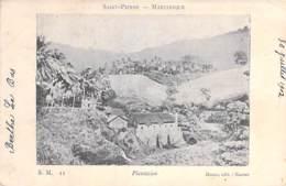 MARTINIQUE - ST PIERRE Plantation (à Situer Précisement ) CPA 1902 Précurseur 1 Antilles West Indies Caribbean Caraïbes - Autres