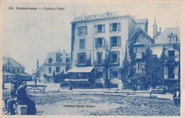 Carte 1928 CONCARNEAU / L'ATLANTIC HOTEL - Concarneau