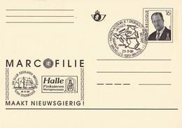 België - Briefkaart - Bruxelles/Brussel - Mission Accompli! - Opdracht Volbracht! - (1998) - Gefälligkeitsabstempelung