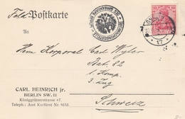 Feldpostkarte In Die Schweiz 1915 - Lettres & Documents