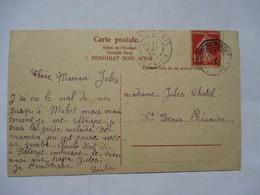 LA  REUNION  A  MARSEILLE  N°3    -   ADEN  -  ARABIAN  CAMELS  .....       TTB - Marcophilie (Lettres)