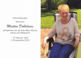 M.DOBBELAERE °1957 +2019 (M.WIEME) - Devotion Images
