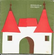 Pochette De 8 Cartes Géographiques Franconie - Reiseatlas Franken Nordbayern (Fränkische Schweiz, Rhön Hassberge...) - Geographical Maps