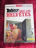 1970 BD Astérix Chez Les Helvètes Album De La Série Bande Dessinée Astérix De René Goscinny Et Albert Uderzo - Asterix