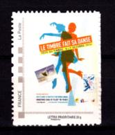 F 2016/N**/ Timbre Adhésif Provenant Du Collector Le Timbre Fait Sa Danse/Fête Du Timbre/Timbre Sur Timbre - France