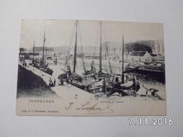 Terneuzen. - Oostzijde V/h Kanaal. (1902) - Terneuzen