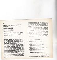 E.VERLEE °ST.KRUIS 1906 +1977 (E.VERCOUTTER) - Devotion Images