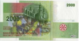 Comores 2000 Francs (P17) 2005 -UNC- - Comores
