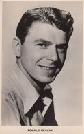 Ronald Reagan Vintage Picturegoer Photo Postcard - Juneau