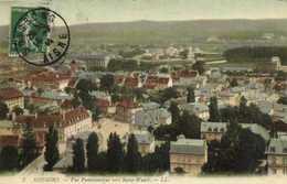 SOISSONS Vue Panoramique Vers Saint Waast Colorisée RV - Soissons
