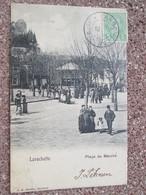 Larochette  Place Du Marche  . Dos 1900 - Larochette