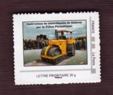 F 2012/N**/ Timbre Adhésif Provenant Du Collector De L' Exposition PLONK Au Musée De La Poste - Autoadesivi