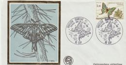 "TIMBRE Sur Enveloppe "" GAP GRAELLSIA ISABELLAE""  Cachet 1er Jour  31 Mai 1980 - France"