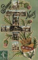 54 - Meurthe Et Moselle - Souvenir De Nancy - Croix De Lorraine - Vues Multiples - D 2930 - Nancy