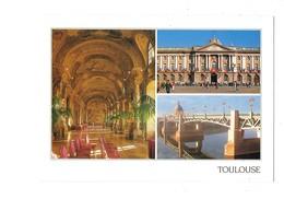 Cpm - 31 - TOULOUSE -  Multivues Fauteuils Sculpture Coquille - Toulouse