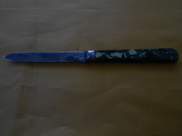 Couteau Pradel De Poche Ancien Joli Effet Marbré - Knives