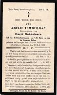 A.TEMMERMAN °DRONGEN 1868 +1932 (D.DOBBELAERE) - Devotion Images