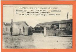 """TARN, Castres, Matériel Industriel Et Chaudronnerie, """"Atelier Du Rey"""", Henri Chabrouty, Carte Pas Courante... - Castres"""