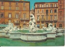 Roma (Lazio) Piazza Navona, Fontana Del Nettuno, Navona Square, Neptune's Fountain, Place Navona, Fontaine Du Neptune - Places