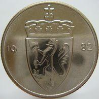 LaZooRo: Norway 50 Ore 1982 UNC - Norvège