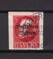Bayern - 1919/20 - Michel Nr. 130 B - Gest. - 70 Euro - Bayern