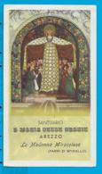 Holycard   S. Maria Delle Grazie   Arezzo - Images Religieuses