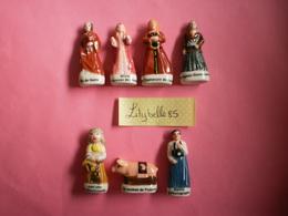 Serie Complète De 7 Fèves PERSO En Porcelaine - GEANTS DEBLOCK  2019 ( Feve Miniature Figurine ) RARE - Région
