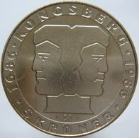LaZooRo: Norway 5 Kroner 1986 PL UNC Rare - Norvège