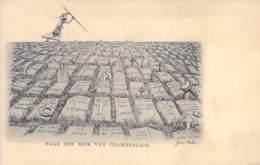 POLITIQUE Satirique ( NEDERLAND Netherlands Pays Bas ) Naar Het Rijk Van CHAMBERLAIN / A L'Empire De CHAMBERLAIN - CPA - Satiriques