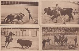 Antonio Canero Mexico Matador Fighter 4x Antique Bull Fight Fighting Postcard S - España
