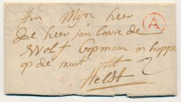 Antwerpen Voorloper Met Inhoud - A 10.03.1774 Naar Aalst – Port 2 Stuiver - 1714-1794 (Oesterreichische Niederlande)
