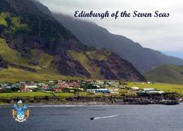 Tristan Da Cunha Island Edinburgh Of The Seven Seas New Postcard - Ansichtskarten