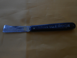 Couteau Bourdier 43 - Publicitaire  - Prisonnier? - Cuchillos