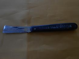 Couteau Greffoir Bourdier 43 - Publicitaire  - - Couteaux