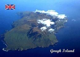 Tristan Da Cunha Gough Island Aerial View UNESCO New Postcard - Autres