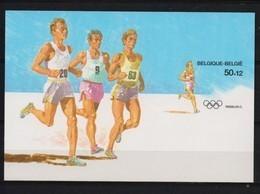 BLOK 64 OLYMPISCHE SPELEN ONGETAND POSTFRIS** 1988 - Belgique