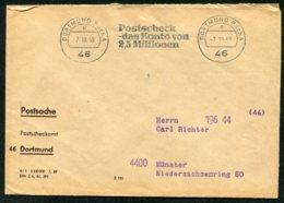 16623 ALLEMAGNE  Franchise  Dortmund  Du 7.10.69  B/TB - [7] République Fédérale
