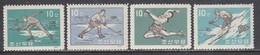 Korea North 1961 - Winter Sports, Mi-nr. 358/61, MNH** - Korea, North