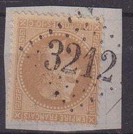 """FRANCE : GC 3212 . """" ROSNAY L'HOPITAL """" . (09) . N° 28 . TB . SUR FGT . - 1849-1876: Période Classique"""