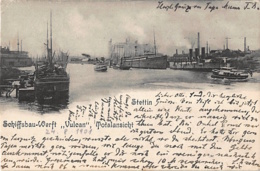 Stettin, Szczecin – Schiffsbau-Werft Vulcan, 1901 - Pommern