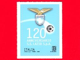 Nuovo - MNH - ITALIA - 2020 - 120 Anni Della S.S. Lazio S.p.A. – Calcio – Pallone - B - 2011-...: Mint/hinged