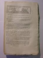 BULLETIN LOIS 1801 - POLICE MUNICIPALE - SITUATION DE LA REPUBLIQUE AN IX ANNEE 1800 METROPOLE COLONIES GUYANE REUNION - Décrets & Lois