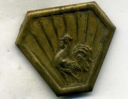 Insigne Corps Expéditionnaire En ITALIE (une Patte Manquante)___CARNAUD - Armée De Terre