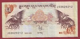 Bhoutan 5 Ngultrum  2006 Dans L 'état - Bhoutan