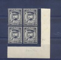 Nr. 384-V1 Witte Vlek Op Borst Postgaaf ** MNH - Abarten Und Kuriositäten