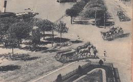 OLD POSTCARD - SWITZERLAND - SUISSE -  SCHWEIZ -    LUZERN - PROMENADE  1910 - LU Luzern