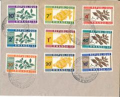 RWANDA FDC 1963 - Rwanda